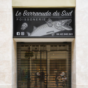Enseigne le Barracuda du Sud