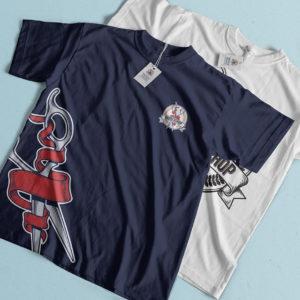 Tshirt personnalisé avec le logo d'un barbier